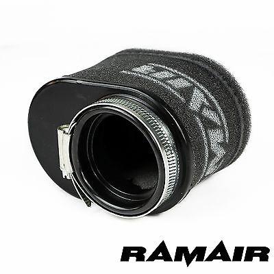 RAMAIR High Flow Motorcycle Race Foam Pod Air Filter 55mm Oval Neck