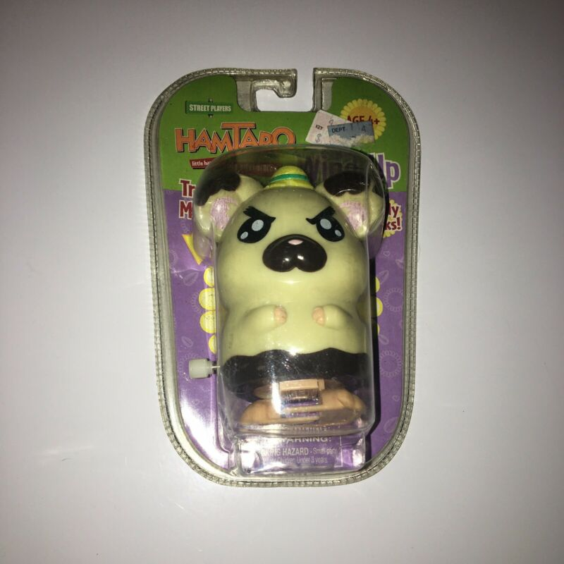 Street Players Hamtaro Wind-Up Boss Brand New!