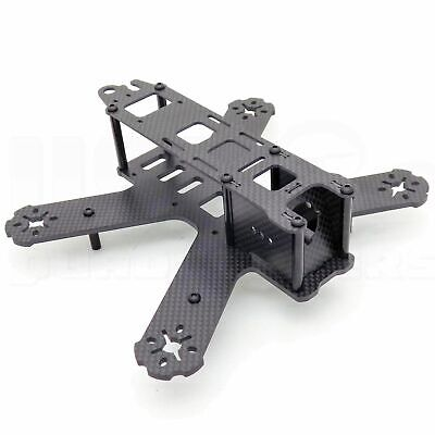 QAV180 180mm FPV Racing Drone Frame 3K Carbon Fiber Camera Mount 3mm Unibody