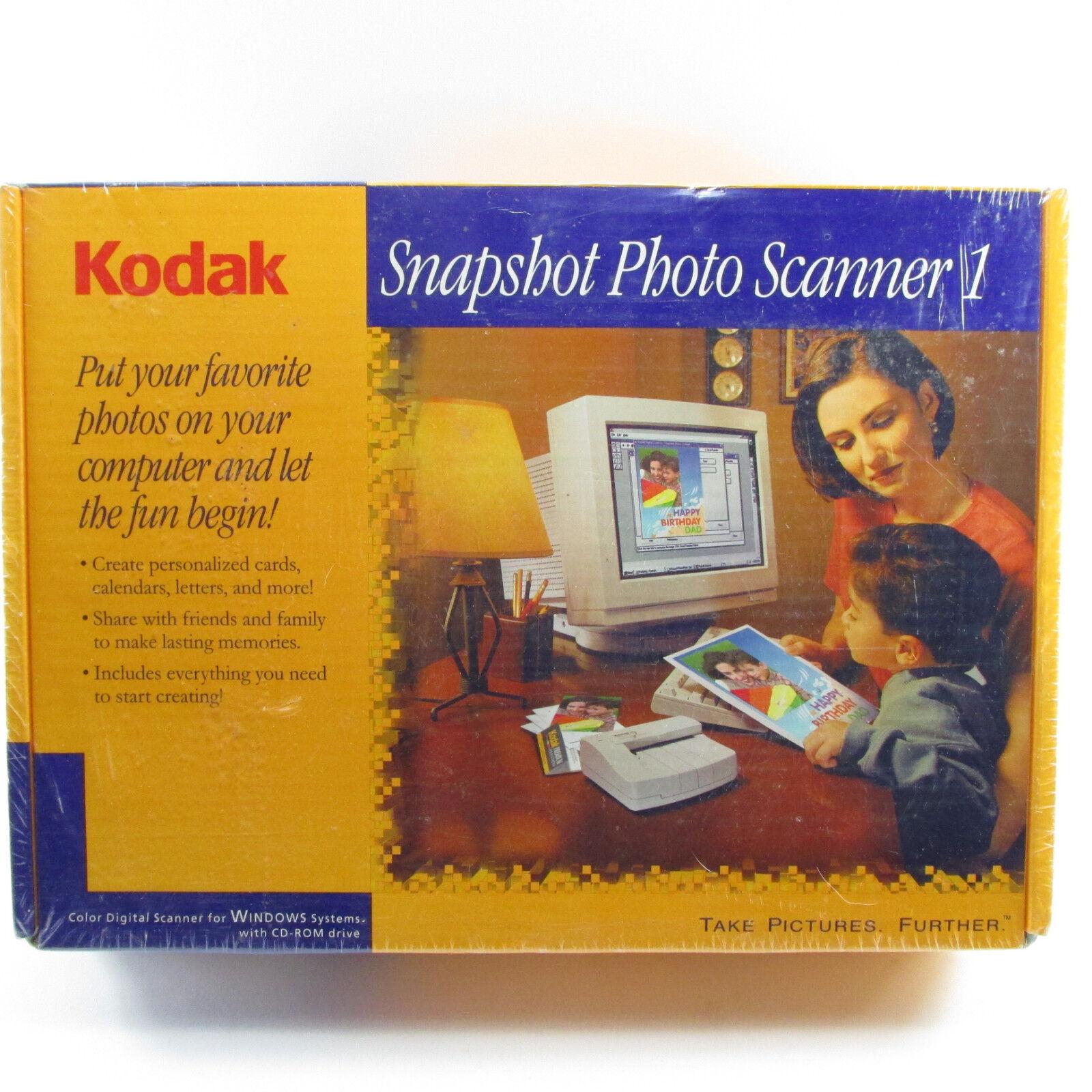 New Kodak Snapshot Photo Color Digital Scanner 1 Factory Sea