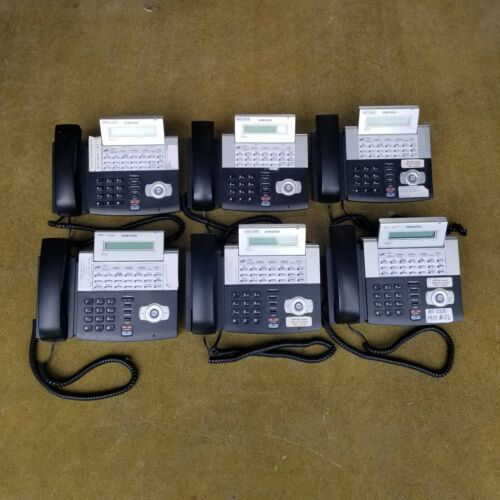 6 Pack of Samsung OfficeServ ITP-5121D Office Serv 7 Telephone Lines 21 Buttons