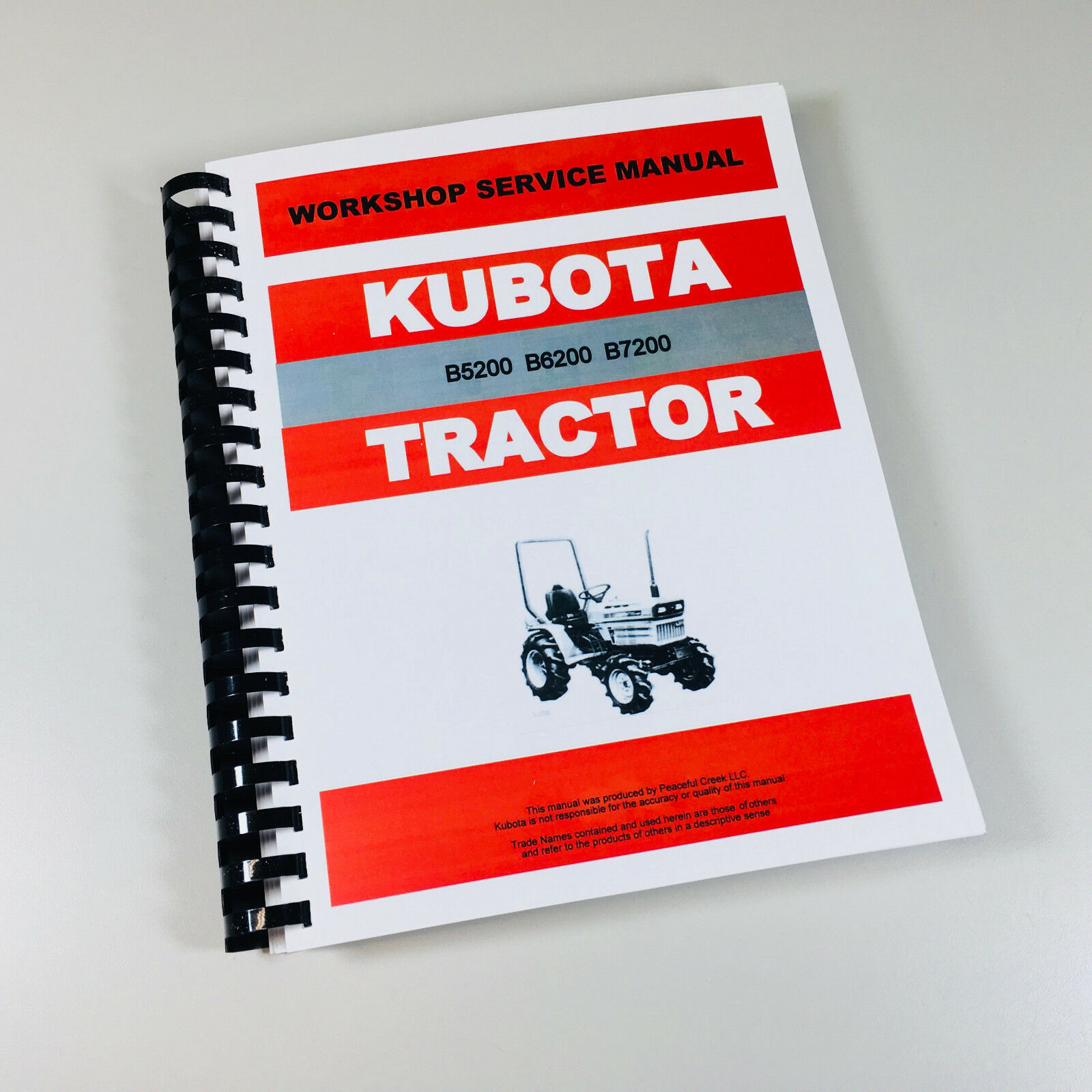 kubota b7200 b7200e b7200d tractor service repair manual technical rh ebay com Kubota B7200 Purolator Oil Filter Kubota B7200 Parts Diagram