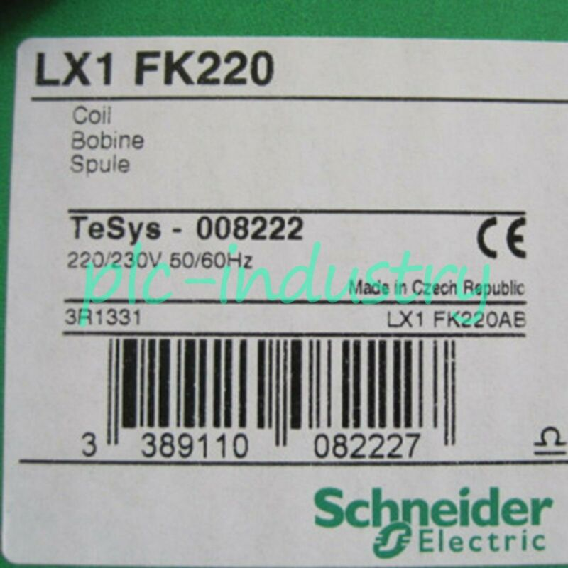 New Schneider/Telemecanique F Series Contactor Loop LX1FK220 One year warranty