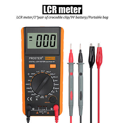 Upgraded Bm4070 Lcr Meter Capacitance Inductance Resistance Self-discharge