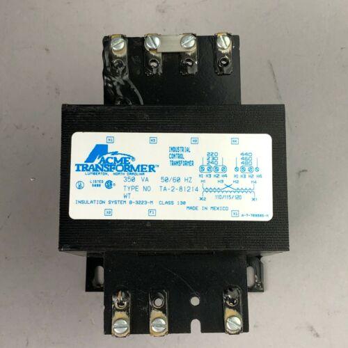 ACME TRANSFORMER TA-2-81214, 350A, 50/60 Hz