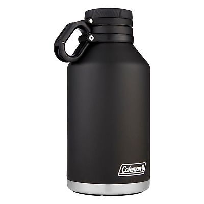 Coleman Stainless Steel Growler 64oz Black Vacuum Insulated