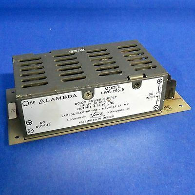 Lambda 20-40vdc Dc-dc Power Supply Lws-295-5