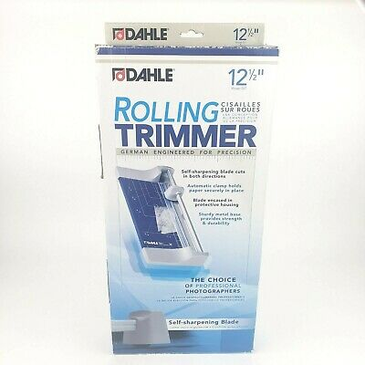 Dahle Paper Trimmer Rolling Cutter 12 Cut Home Office Teacher School Scrapboo