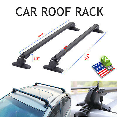 "For Honda Civic Accord Mazda 3 SUV 43"" Universal Car Roof Rack Carrier Cross Bar"