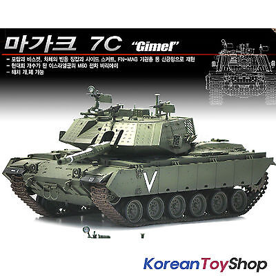 Academy 13297 1/35 Plastic Model Kit Magach 7C Gimel Israel Armor Tank