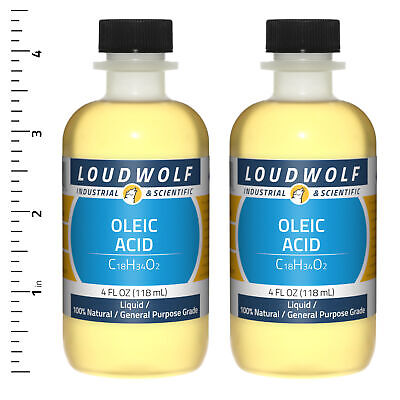 Oleic Acid 8 Fl Oz Total 2 Bottles General Purpose Grade Liquid Usa Seller