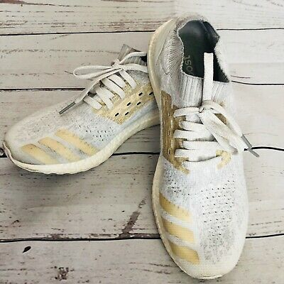 Adidas Ultra Boost Continental sneakers men's shoes Gray White Sz 12 for sale  Shipping to India