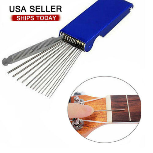 Guitar Nut Slotting File Saw Rods Slot Filing Set Luthier Replacement Tools Guitar Building & Luthier Supplies