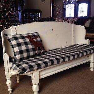 Child size sofa