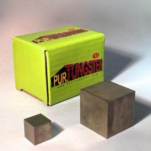 """Half-inch (1/2"""") Tungsten Cube"""
