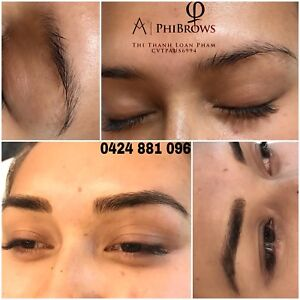 microblading eyebrows tattoo in Wollongong Region, NSW