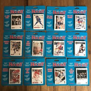 1991 Canplay Upper Deck Hockey Team Sets