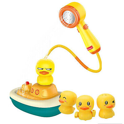 Spray Water Toys Duck Faucet Pirate Ship Comfortable Handle For Kids Baby Shower