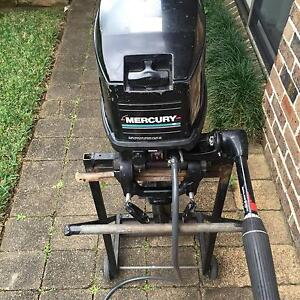 Mercury 25 hp short shaft outboard motor Jannali Sutherland Area Preview