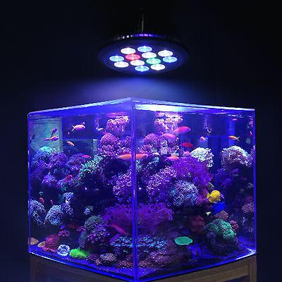 12W led aquarium light bulb for coral fish reef freshwater saltwater tank lamp