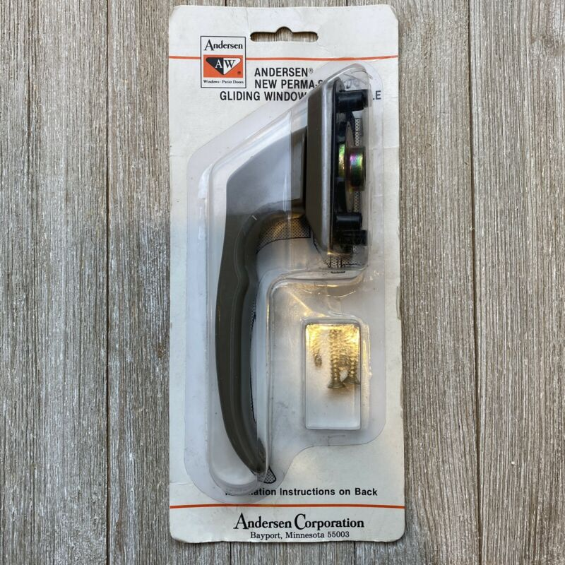 Vintage Andersen Perma-Shield Gliding Window Handle + Screws New-Old-Stock [NEW]