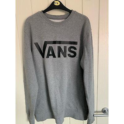 VANS medium grey sweatshirt jumper