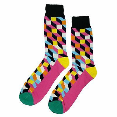 Carnival Novelties (NWT Carnival Dress Socks Novelty Men 8-12 Multi-color Fun)