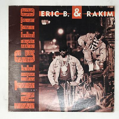 Eric B. & Rakim In The Ghetto Vinyl Record Original 1990 Hip Hop