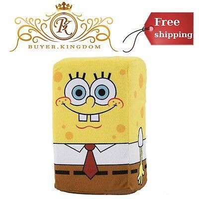 Spongebob Squarepants Plush Doll Toys For Kids Girls Boys Block Style