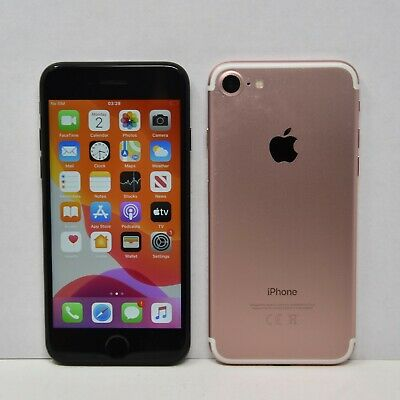Apple iPhone 7 32GB 64GB 128GB 256GB - SIM Free/Locked Smartphone Colours Grade