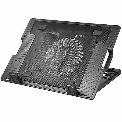 TRIXES Supporto Stand per PC Portatile Laptop LED, Ventola & Porta USB Integrata