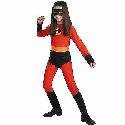 Child Movie Disney The Incredibles Violet Incredible Classic Superhero Costume (The Incredibles Girl Costume)