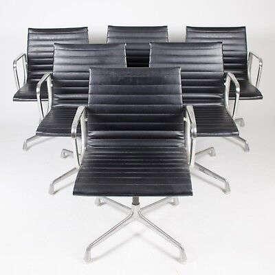 Herman Miller Eames Aluminum Group Executive Task Chairs Black 4x Available (Eames Aluminum Group Executive Chair)