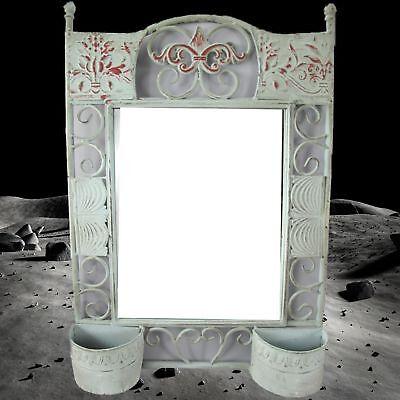 Mirror in Metal Frame Wall Mirror Iron H.68x45cm Furniture & Interior