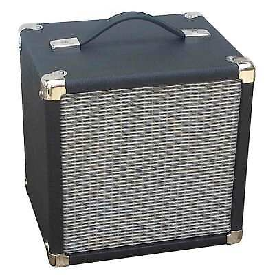 "SubZ 1x10"" Guitar Extension Cabinet Small Footprint Black/Silver Convertible Cab"