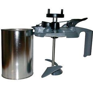 1 agitateur machine m langer peinture de voiture et peinture l 39 eau 1 l ebay. Black Bedroom Furniture Sets. Home Design Ideas