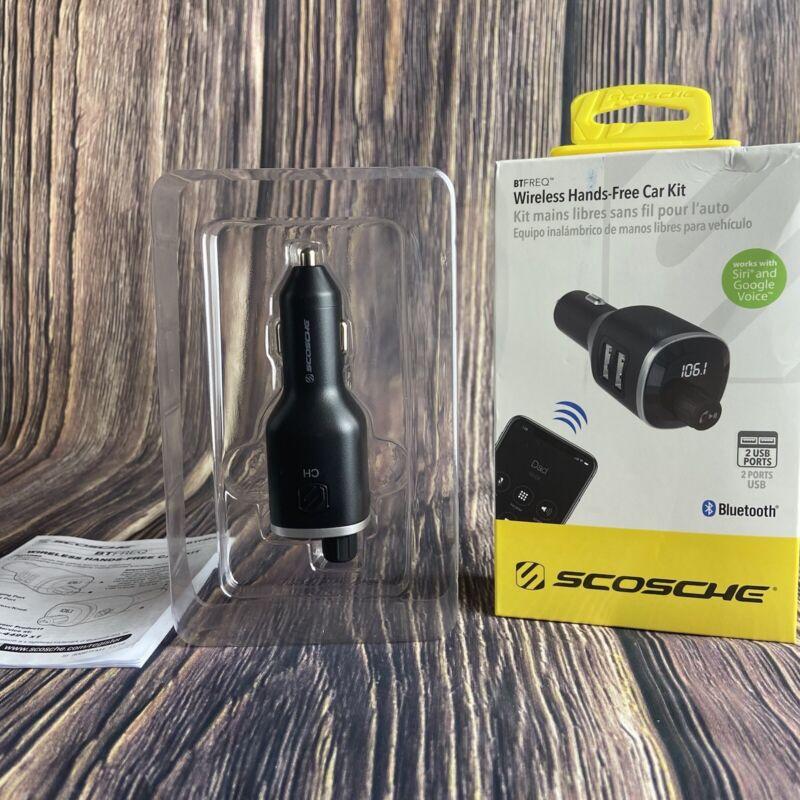 Scosche BTFM4 Wireless Bluetooth Hands Free Car Kit with FM Transmitter