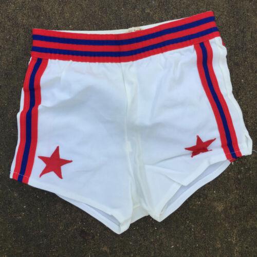 Vintage Kids Youth Childrens Boys Basketball Gym Shorts Uniform Game Worn Used