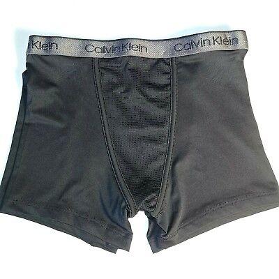 Calvin Klein Air FX Boxer Briefs Boy's Underwear - 2 Pair - Black