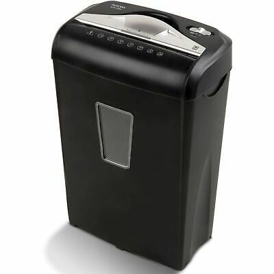 Paper Shredder Micro-cut 8-sheet Confidential Document Security Auto Start Stop