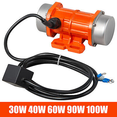 Ac Vibration Motor Vibrating Asynchronous Vibrator 30w-100w 110v Single Phase