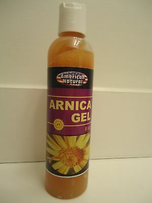 Arnica Montana Gel 8 Oz Pain Relief Bruises Muscle Aches Cream