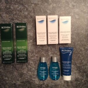 Biotherm (10 products - brand new)
