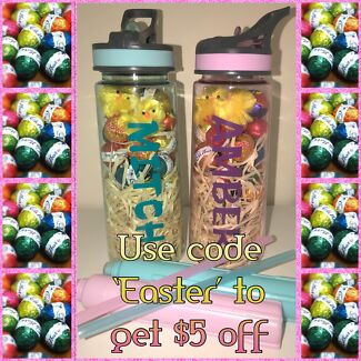 Personalised gifts in ipswich region qld baby children local special personalised easter drink bottles negle Choice Image