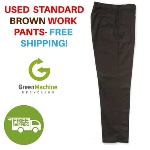 Used Uniform Work Pants Cintas Redkap Unifirst G&k Dickies And Others Free Ship