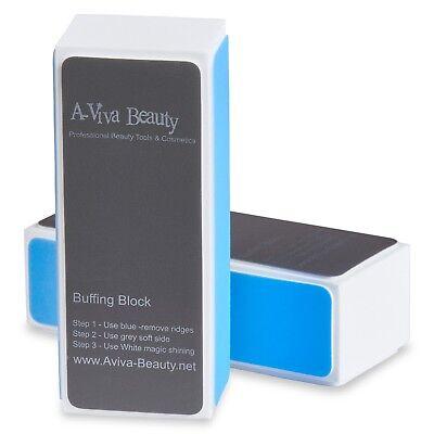 A-viva Beauty Nail Shiner Buffer The natural Way