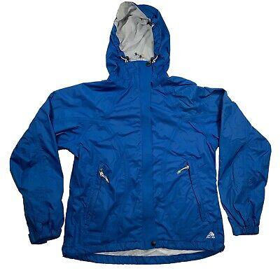 Nike Men's ACG Layer 3 Outer Coat Jacket Blue Hood Size M Storm Fit Vintage
