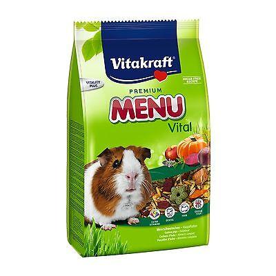 VITAKRAFT Premium Menú Para Cobaya 5kg - Comida Alimentación para Conejillo