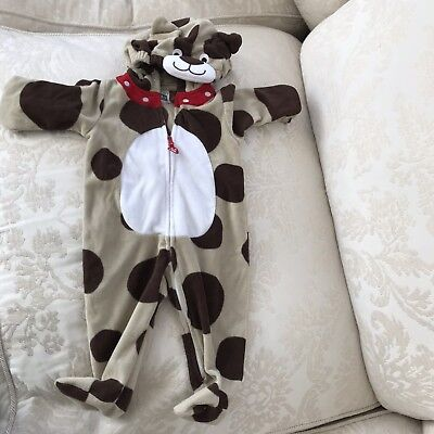 Carter'S Mucca Cane Bambino Costume Completo B Taglie 6-9 Mesi 6 - 9
