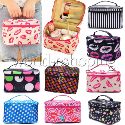 Womens Travel Cosmetic Bag Toiletry Makeup Beauty Organizer